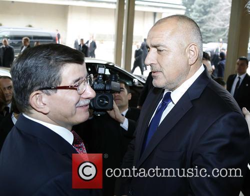 Boiko Borisov and Ahmet Davutoglu 6