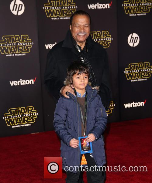 Billy Dee Williams and Finnegan 1