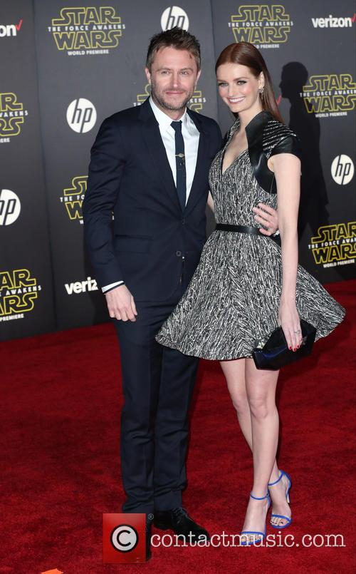 Chris Hardwick and Lydia Hearst 1