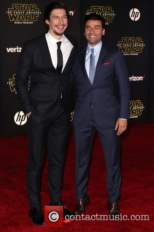 Adam Driver and Oscar Isaac 4