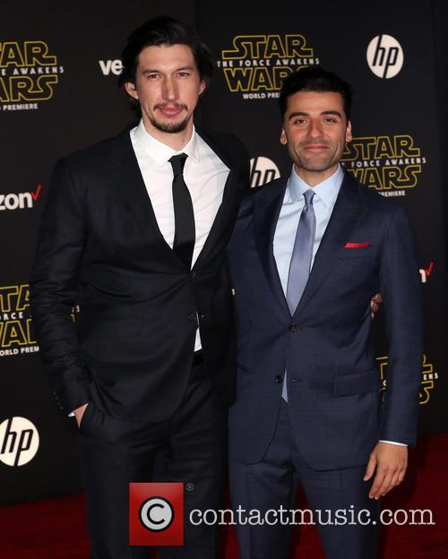 Adam Driver and Oscar Isaac 5