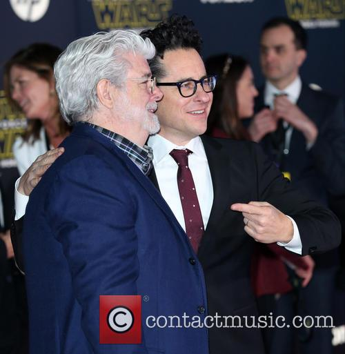 George Lucas and J.j. Abrams 2