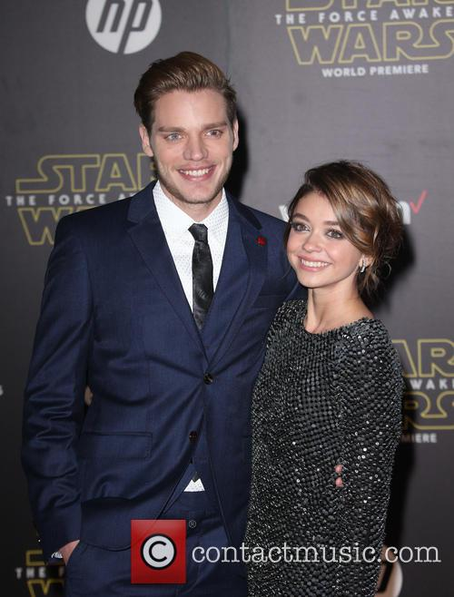 Domnic Sherwood and Sarah Hyland 2