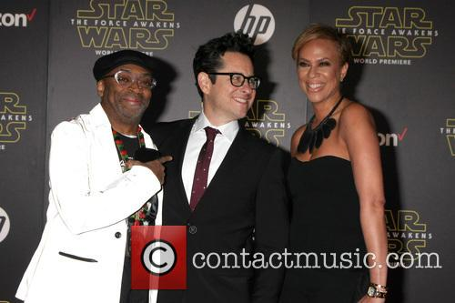 Spike Lee, Jj Abrams and Tonya Lewis Lee