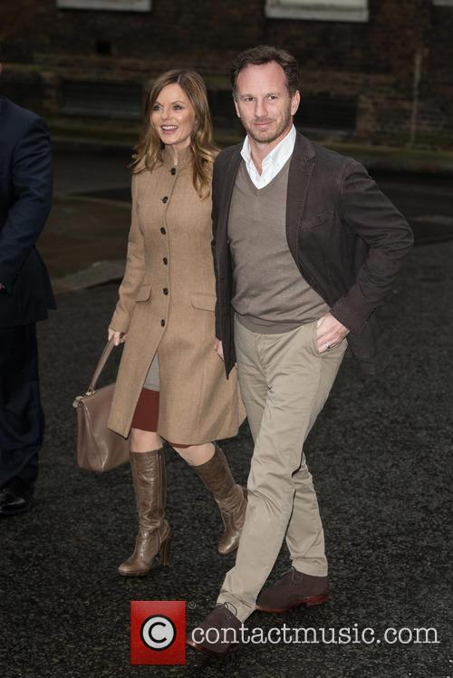 Geri Halliwell and Christian Horner 2