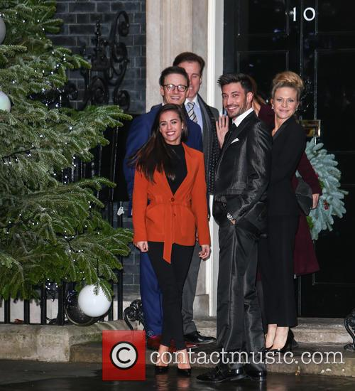 Georgia May Foote, Kellie Bright, Katie Derham, Anton Du Beke, Kevin Clifton and Giovanni Pernice 4