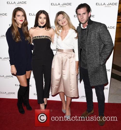 Millie Wilkinson, Ella Jade, Georgia Toffolo and Elliot Cross 1