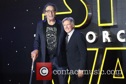 Peter Mayhew and Harrison Ford 7