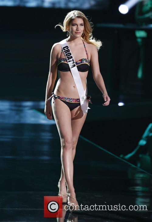 Miss Croatia and Mirta Kustan 1