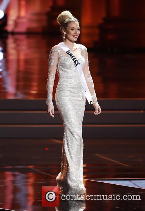 Miss Greece and Michaela Eleni Fotiadi 2