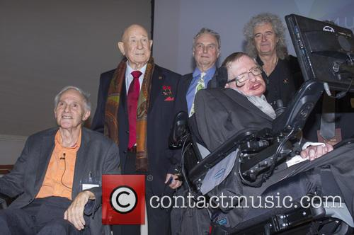 Brian May, Professor Sir Harry Kroto, Alexei Leonov, Dr Richard Dawkins, Professor Garik Israelian and Stephen Hawking 7