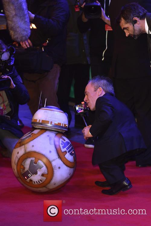 Warwick Davis and Star Wars 4