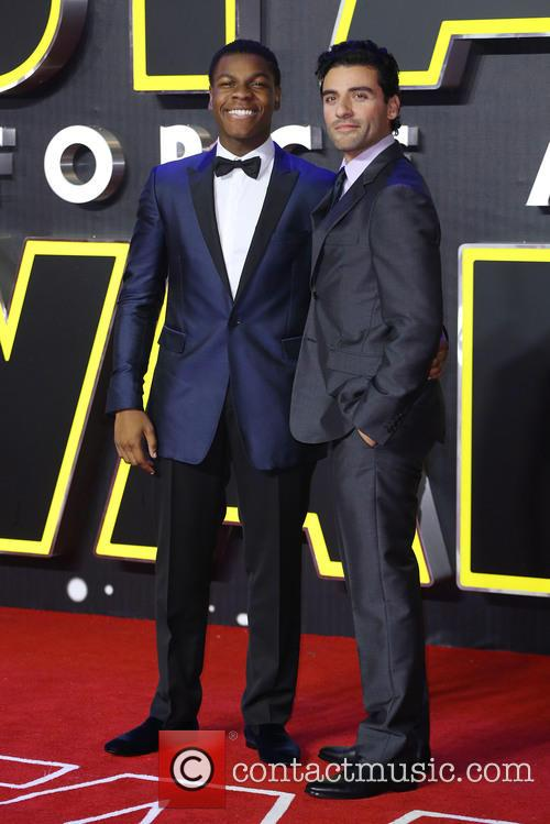 John Boyega and Oscar Isaac 6