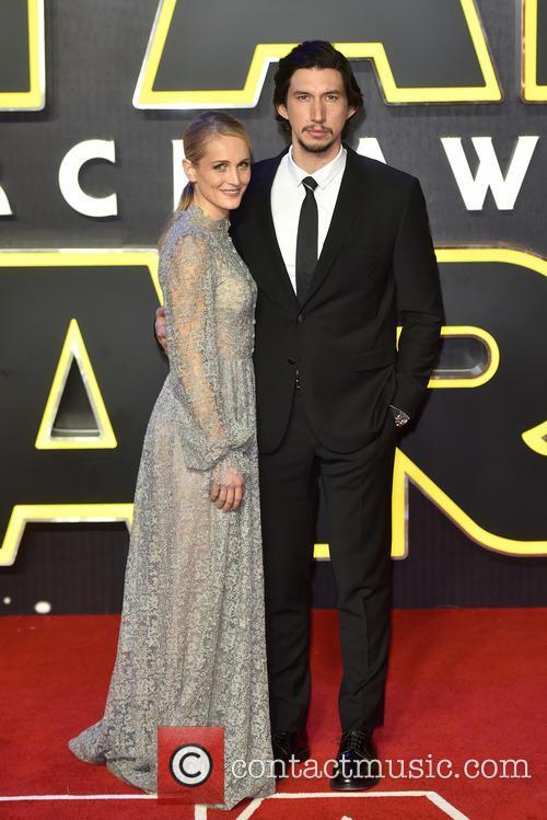 Adam Driver, Joanne Tucker and Star Wars 9
