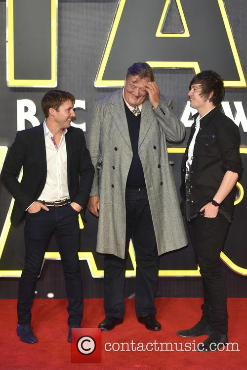 James Blunt, Stephen Fry and Elliott Spencer