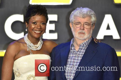 George Lucas and Mellody Hobson 9