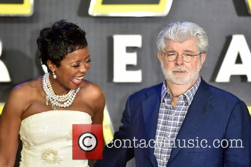 George Lucas and Mellody Hobson 11