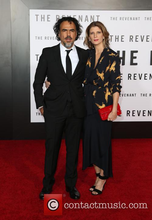 Alejandro Gonzalez Inarritu and Maria Eladia Hagerman 8