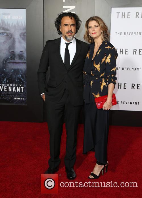 Alejandro Gonzalez Inarritu and Maria Eladia Hagerman 9