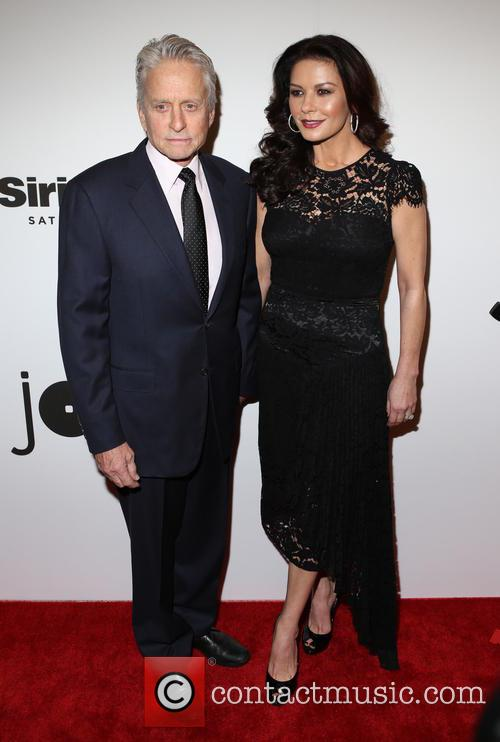 Michael Douglas and Catherine Zeta-­‐jones 1