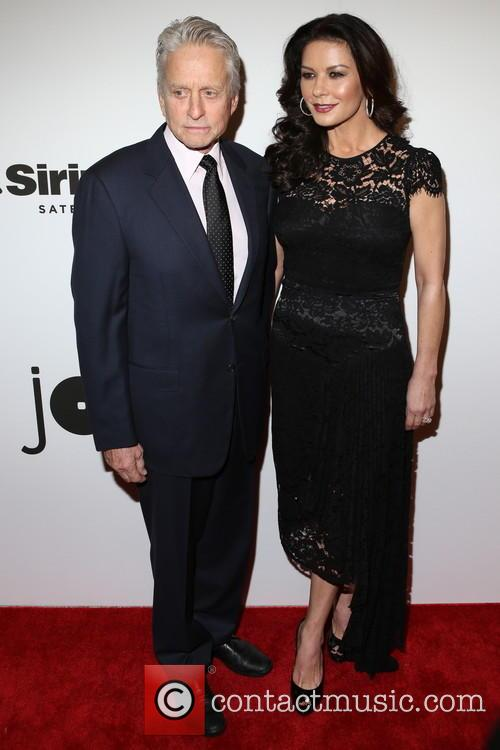 Michael Douglas and Catherine Zeta-­‐jones 2