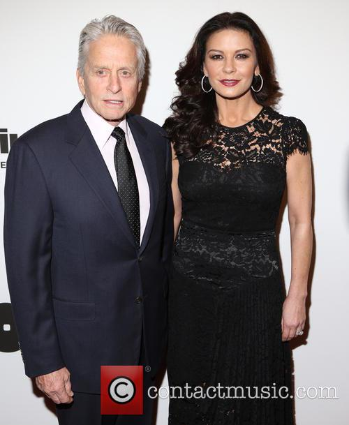Michael Douglas and Catherine Zeta-­‐jones 3