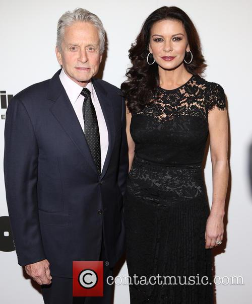 Michael Douglas and Catherine Zeta-­‐jones 4