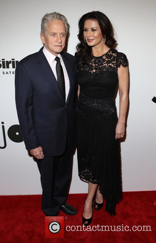 Michael Douglas and Catherine Zeta-­‐jones 5