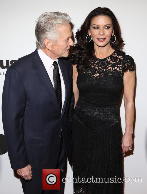 Michael Douglas and Catherine Zeta-­‐jones 6