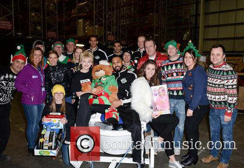 Manchester Giants, Amy Kelly, Katie Mcglynn, Brooke Vincent, Sale Sharks and Volunteers 4