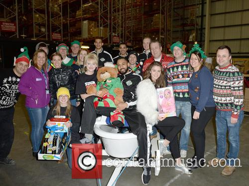 Manchester Giants, Amy Kelly, Katie Mcglynn, Brooke Vincent, Sale Sharks and Volunteers 5