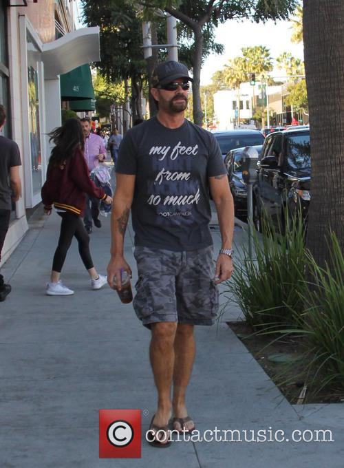 Lorenzo Lamas spotted out wearing a t-shirt that...