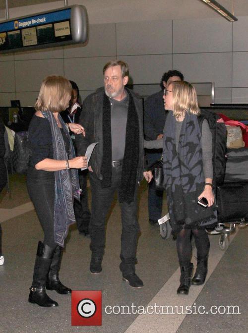 Mark Hamill, Marilou York and Chelsea Hamill