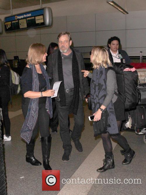 Mark Hamill, Marilou York and Chelsea Hamill 2