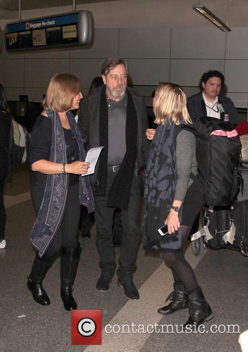 Mark Hamill, Marilou York and Chelsea Hamill 3