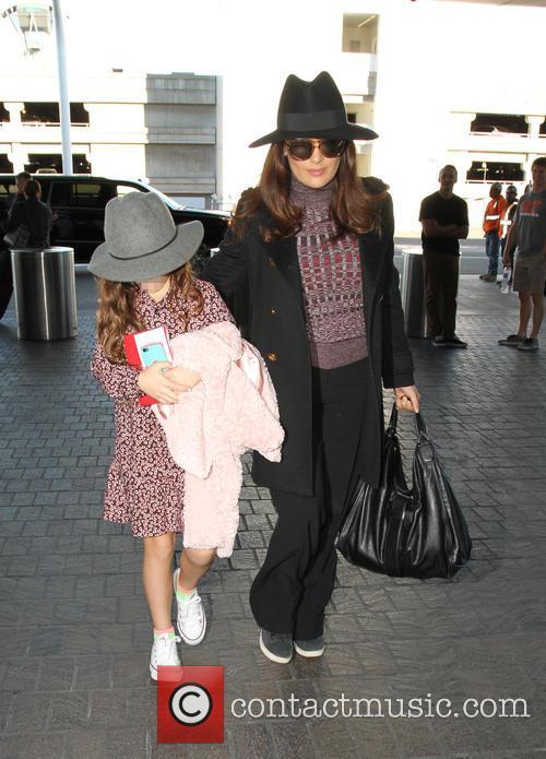 Salma Hayek and Valentina Pinault 7