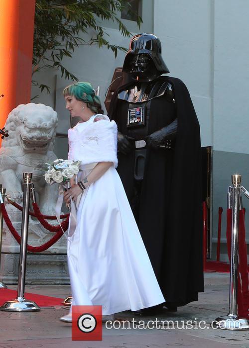 Star Wars, Caroline Ritter and Darth Vader 8