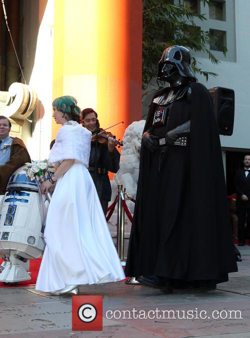 Star Wars, Caroline Ritter and Darth Vader 10