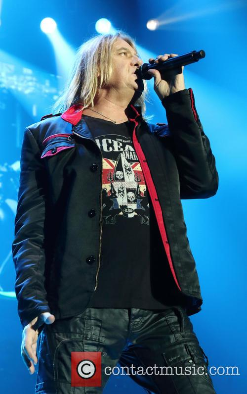 Def Leppard performing at Wembley