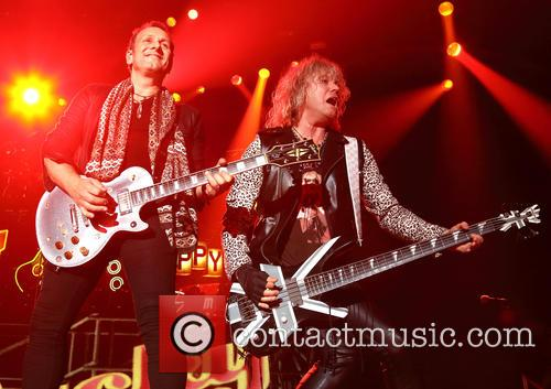 Def Leppard, Vivian Campbell and Rick Savage 10