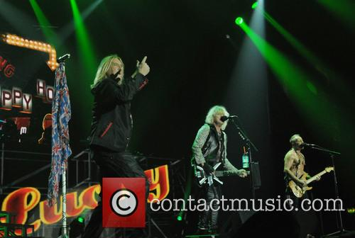 Joe Elliot, Rick Savage, Phil Collen and Def Leppard 3