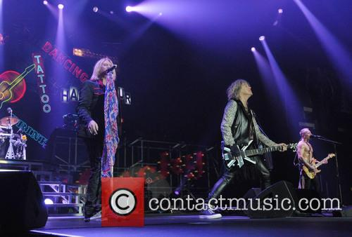 Joe Elliot, Phil Collen, Rick Savage and Def Leppard 4