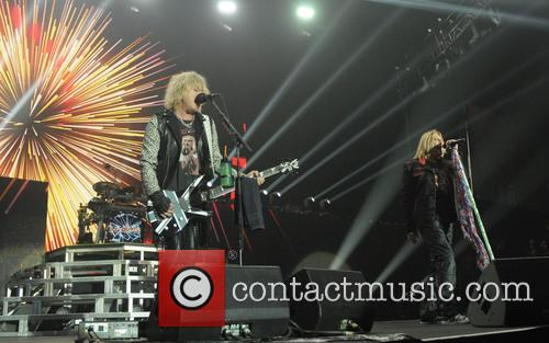 Rick Savage and Def Leppard 1