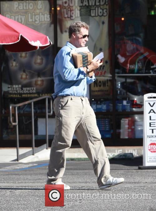 Will Ferrell drops off some Amazon packets at...