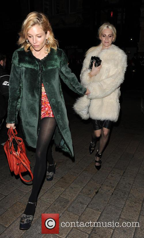 Sienna Miller and Poppy Delevingne 9