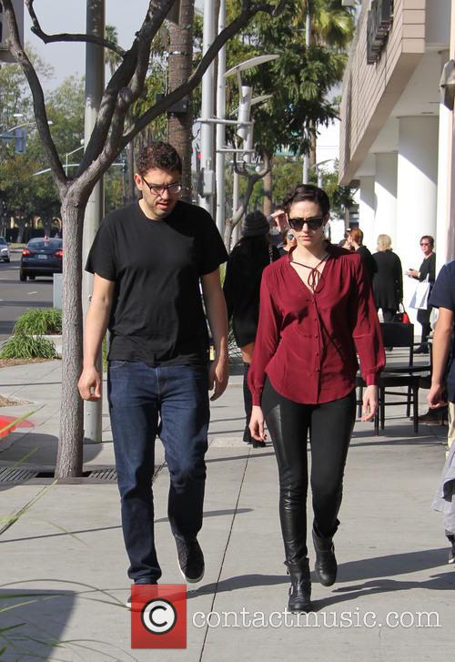 Emmy Rossum and Sam Esmail 3