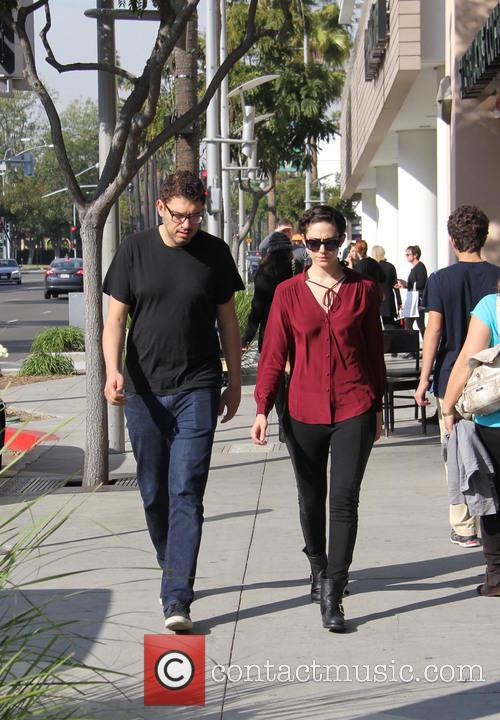 Emmy Rossum and Sam Esmail 5