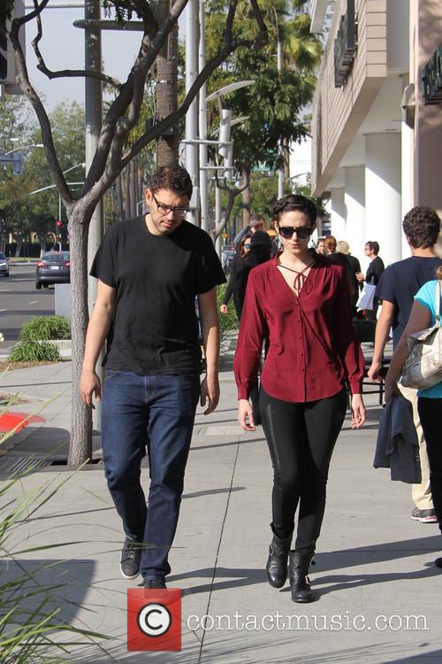 Emmy Rossum and Sam Esmail 6