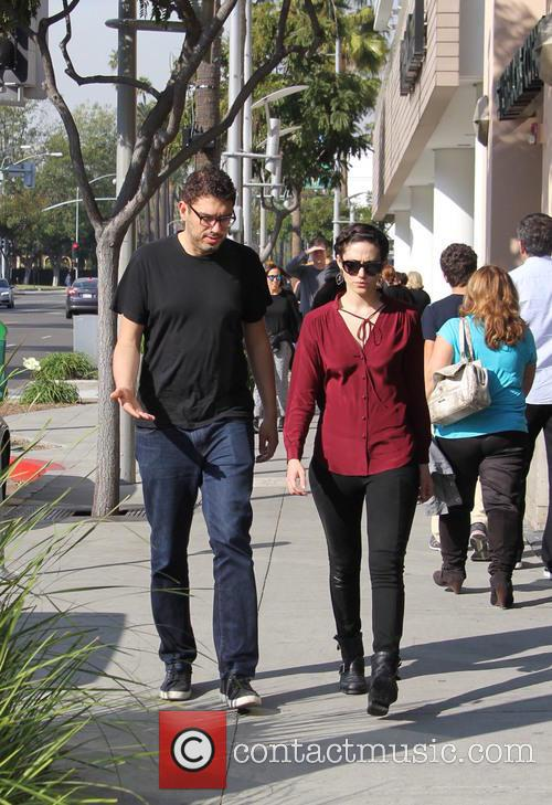 Emmy Rossum and Sam Esmail 10