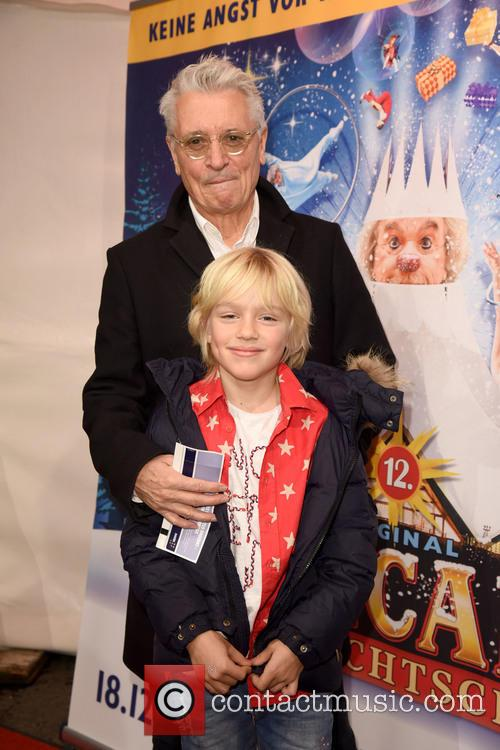 Henry Huebchen and Grandson Luke 2
